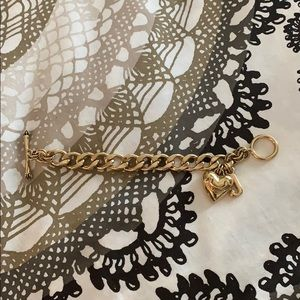 Juicy Couture Gold Chain Link Bracelet